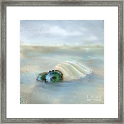 Washing Away Framed Print by Betty LaRue