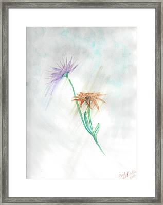Washing Away Framed Print