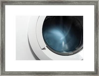 Washing Machine Framed Print by Germano Poli