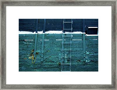 Washingon Yellow Rope Framed Print