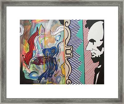 Washingstein Dc Framed Print