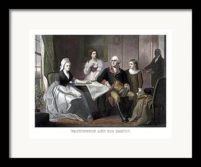 Martha Washington Framed Prints