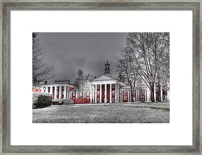 Washington And Lee Law School Framed Print by Todd Hostetter
