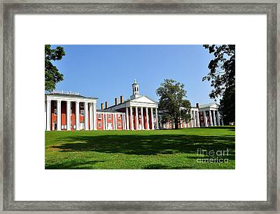 Washington And Lee Framed Print by Todd Hostetter