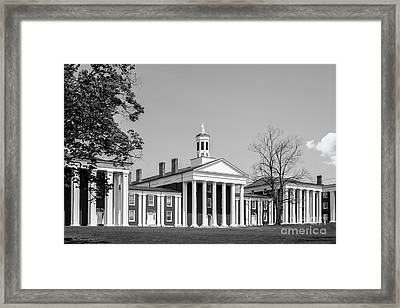 Washington And Lee University Washington Hall Framed Print