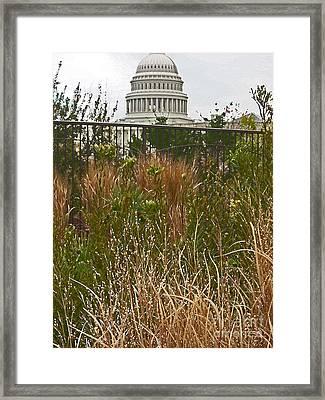 Washington Framed Print by Beebe  Barksdale-Bruner