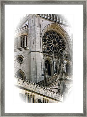 Washington Cathedral Framed Print by Charlie Parker