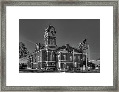 Washington County Courthouse 2 Art Framed Print