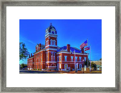 Washington County Courthouse Art Framed Print by Reid Callaway