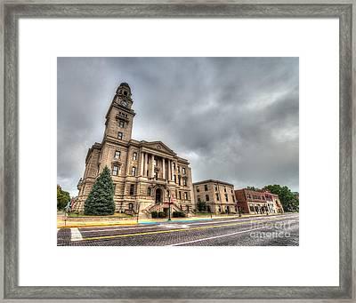 Washington County Courthouse  Framed Print