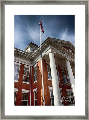 Washington County Courthouse Framed Print by Tom Gari Gallery-Three-Photography