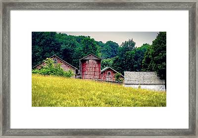 Framed Print featuring the photograph Washington County Vignette by Kendall McKernon