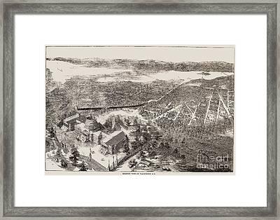 Washington, D.c., 1861 Framed Print by Granger