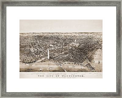 Washington D.c., 1892 Framed Print by Granger