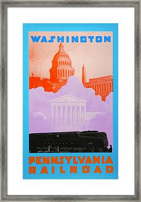 Washington Dc Framed Print by David Studwell