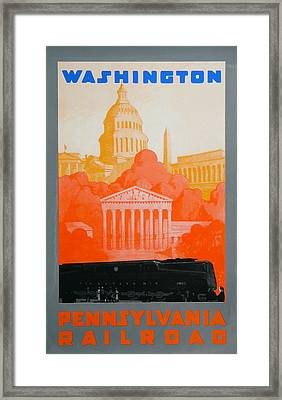 Washington Dc IIi Framed Print by David Studwell