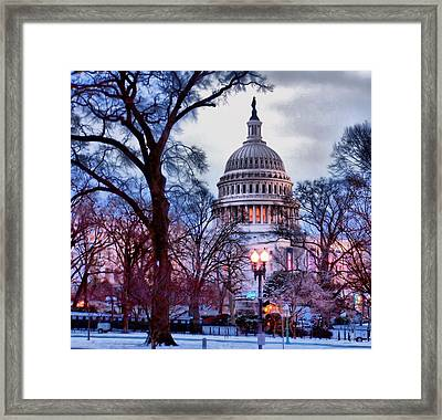 Washington D.c. One Framed Print