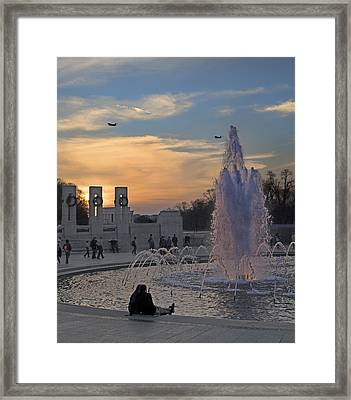 Washington Dc Rhythms  Framed Print by Betsy Knapp