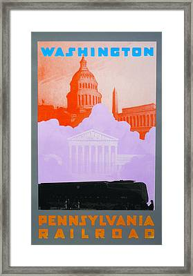 Washington Dc Vi Framed Print by David Studwell