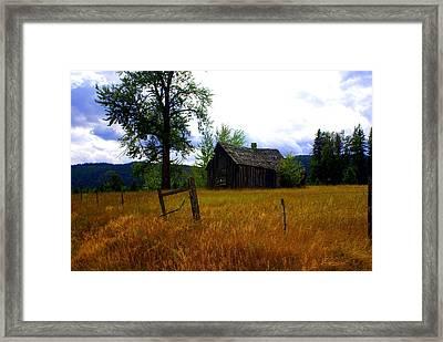 Washington Homestead Framed Print by Marty Koch