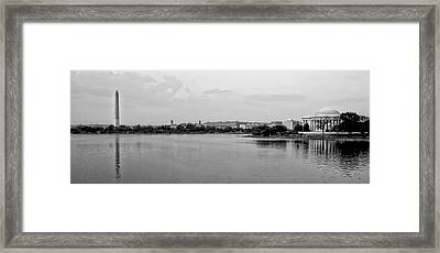 Washington Landmarks Framed Print