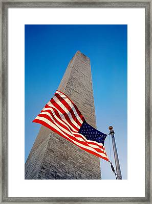 Washington Monument Framed Print by Ilker Goksen