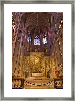 Washington National Cathedral IIi Framed Print by Irene Abdou