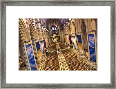 Washington National Cathedral Iv Framed Print