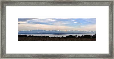 Washington Panorama Framed Print