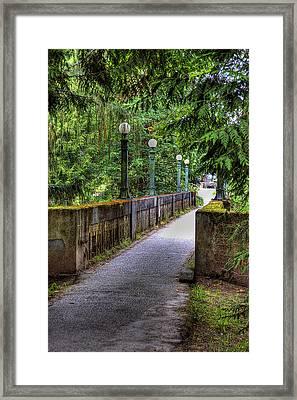 Washington Park Arboretum Framed Print