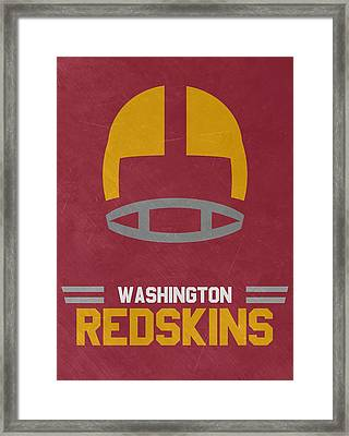 Washington Redskins Vintage Art Framed Print