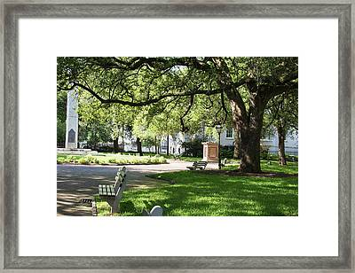 Washington Square Park Framed Print