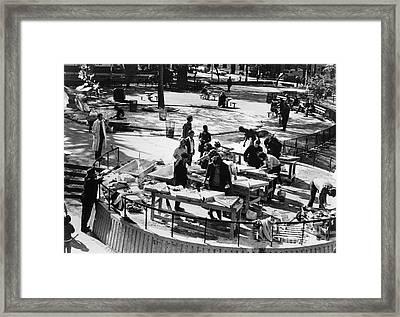 Washington Square Park Framed Print