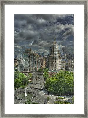Washington Square Framed Print by William Fields