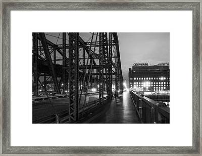Washington Street Bridge Framed Print