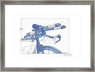 Washington Velo Framed Print by Sarah Kaplan