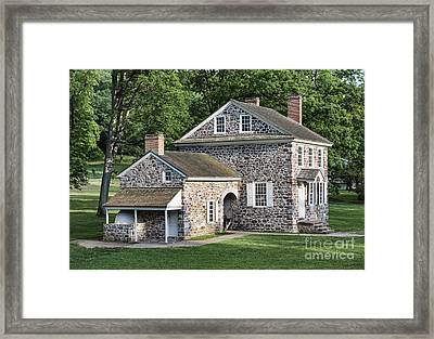 Washington's Headquarters At Valley Forge Framed Print