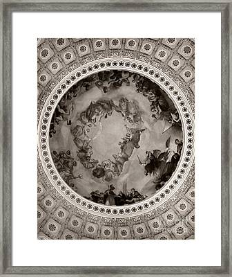 Washinton's Apotheosis Framed Print by Jennifer Apffel