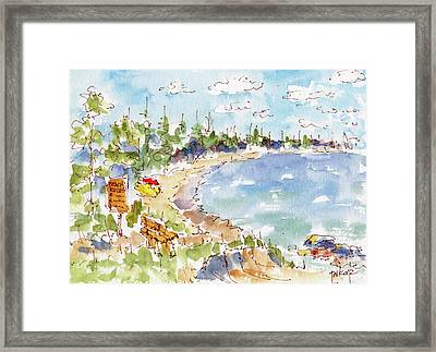 Waskesiu Summer Framed Print