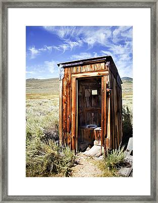 Waste In A Way Framed Print