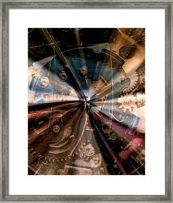 Wasted Time Framed Print