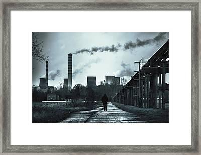 Wasteland Framed Print