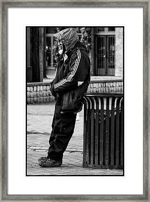 Wasting Away Framed Print by David Patterson