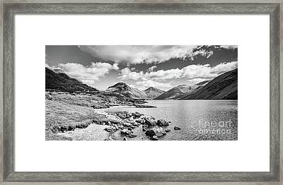Wastwater And Wasdale Framed Print by Colin and Linda McKie