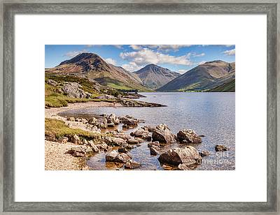 Wastwater  Framed Print by Colin and Linda McKie