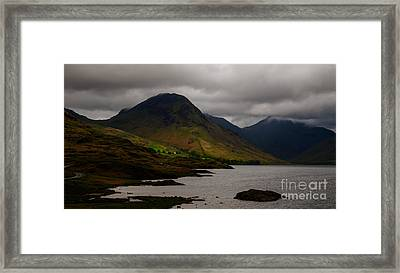 Wastwater Framed Print by John Collier