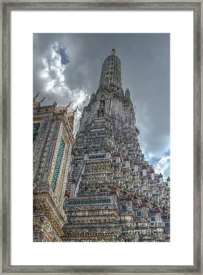Wat Arun Framed Print by Michelle Meenawong