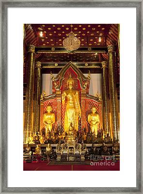 Wat Chedi Luang Wora Wihan Framed Print by Greg Vaughn - Printscapes