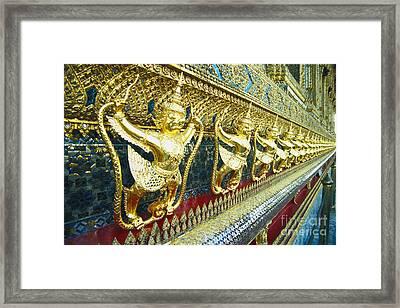 Wat Phra Keo (grand Palac Framed Print by Bill Brennan - Printscapes