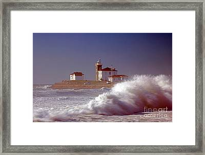 Watch Hill Light House Framed Print